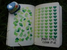 learning-to-love-herself: Make a mess. Clean it up. on We Heart It - http://weheartit.com/entry/99640161 On that note. Get back to work wo...