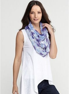 infinity scarf handcrafted by japanese artisans