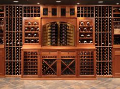 Vigilant Kit Wine Cellar components used for this wine cellar & 35 best Wine Cabinets images on Pinterest | Wine cabinets Wine ...