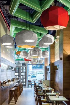 12 NYC Restaurants Serve Up Hot Design | Project: Uncle Sam's. Firm: Alvarez+Brock Design. Site: Midtow