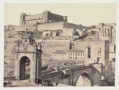 Puerta de San Ildefonso, Toledo - Espana. Destruida en 1871 Fuente:http://toledoolvidado.blogspot.com