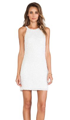 0af31bb116595 Parker Audrey Dress in White Winter Formal
