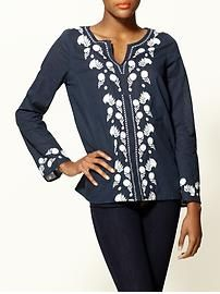 Piperlime.com  Hive & Honey  Embroidered Tunic Regular Price  $49.00
