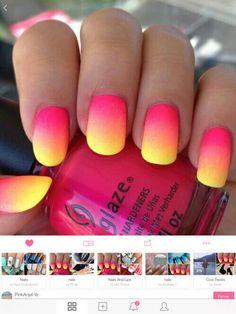 tb to my fav summer nail