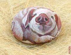 ...Oink Oink Oink, rock art- pig