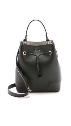 Furla – Stacy Drawstring Bucket Bag