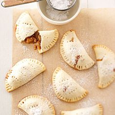 Make these fun bite-sized desserts for any occasion. These mini pie treats are easy and everyone will love this delicious banana filled pastry.