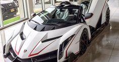 Carros de luxo - Lamborghini Veneno preço R$40 milhões