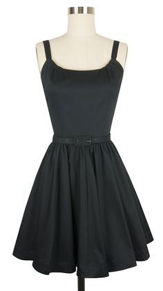 The Annette Mini Dress is making its debut in our black stretch cotton collection!  This original design marries the detailing of a late 50's inspired dress with the simplicity of a modern style and a simple skinny belt. The lightly gathered rounded neckline and wide straps combine with an above the knee 8 panel gathered skirt with pockets to create an incredibly flattering and easy to wear dress. Bop around town day or night in this fun and flirty vintage style party dress and prepare…