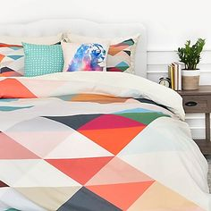 Three of the Possessed South 1 Piece Duvet Cover (Queen), Multi (Polyester, Graphic Print) Bed Sets, Duvet Sets, Duvet Cover Sets, King Duvet, Queen Duvet, Bedroom Colors, Bedroom Decor, Master Bedroom, Bedroom Ideas