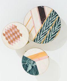 Mosaic Diy, Mosaic Glass, Table Furniture, Furniture Design, Photoshop, Cristina Celestino, Round Marble Table, Hotel Logo, Living Room Lounge