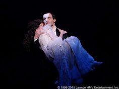 Sneak Peek at Ramin Karimloo in Prince of Broadway - A New Musical: Ramin as The Phantom with Kaley Ann Voorhees. (The Phantom of the Opera)