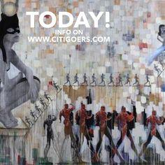 A Temple for Extended Days Art Exhibit: Egyptian Artist Khaled Hafez  Info on www.citigoers.com LINK IN BIO