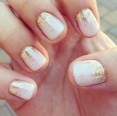 Holiday Glitter Nails