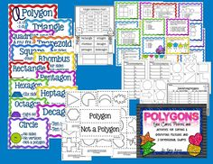 Task Cards, Posters, and activities for sorting & identifying polygons and 2-dimensional shapes (scheduled via http://www.tailwindapp.com?utm_source=pinterest&utm_medium=twpin&utm_content=post13273660&utm_campaign=scheduler_attribution)