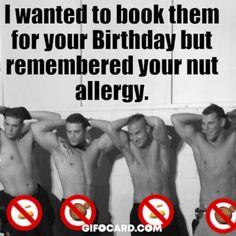 Funny Birthday card for women Funny male stripers Birthday card for women - Modern Happy Birthday Wishes For A Friend, Happy Birthday Man, Birthday Wishes For Boyfriend, Happy Birthday Pictures, Happy Birthdays, Brother Birthday, Birthday Images, Happy Birthday Funny Humorous, Birthday Wishes Funny