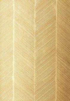 via Chevron Texture in White Gold Wallpaper - modern - wallpaper - - by F. Schumacher & Co.