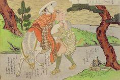 Arqueología e Historia del Sexo: El arte erótico japonés Shunga  Shunga encuentro sexual fortuito, Suzuki Harunobu