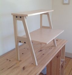 another option for Juan's standing desk - maybe we could construct something like the desk tops being made