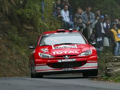 ra Gilles Panizzi - Herve Panizzi-Peugeot 206WRC (2002)-Marlboro Peugeot Total-Rally San Remo 2003