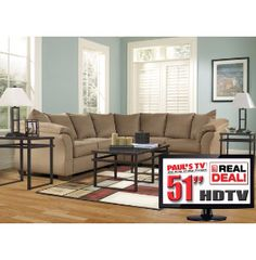 7 Piece Living Room Package With TV | Sectionals | Living Rooms | Art Van  Furniture   Michiganu0027s Furniture Leader | House Living/family Room |  Pinterest ... Part 74