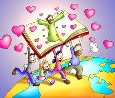 Let's be passionate about Jesús and share his love for us around the world. Scripture Doodle, Bible Art, Good Day Messages, Jesus Cartoon, Jesus Artwork, La Sainte Bible, Christian Pictures, Biblical Inspiration, Bible Crafts