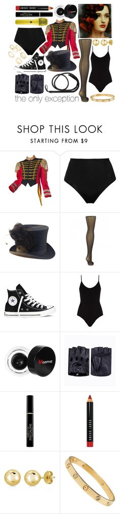 """""""The Only Exception"""" by leonorgomes on Polyvore featuring Fleur du Mal, Converse, ATM by Anthony Thomas Melillo, Sennheiser, Morphe, Max Factor, Bobbi Brown Cosmetics, BERRICLE and Charlotte Russe"""