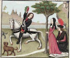 [folio 071r] MS. Douce 195 (Le roman de la rose) Robinet Testard  http://romandelarose.org/#browse;Douce195