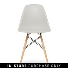 Three words sum up your décor style: mid-century modern. You're head over heels in love with the resurgence of retro and your home needs a makeover! Update your dining or living room with the Adam Rocket chair. See product information.