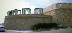 Visualización 3D de rehabilitación en el castillo de Garrucha, Almería. 3D Visualization of the rehabilitation of Garrucha´s castle, Almería.