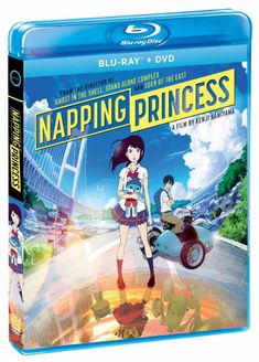 """""""Napping Princess"""" Anime Film Dated for Home Video in North America"""