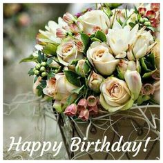 Wishes birthday woman - Geburtstag Happy Birthday Flowers Images, Happy Birthday Wishes Images, Happy Birthday Pictures, Happy Birthday Greetings, Happpy Birthday, Happy Birthday Cakes, 60th Birthday, Birthday Quotes, Birthday Woman