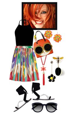 """Summer Fun!"" by lheijl ❤ liked on Polyvore featuring Zad, Kate Spade, Etro, Valentino, Orla Kiely and Ace"
