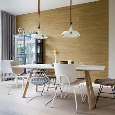 Dining Area, Dining Table, My Dream Home, Building A House, New Homes, Living Room, Interior Design, Furniture, Home Decor