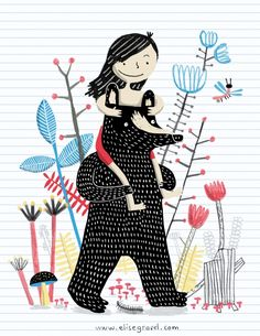Elise Gravel | author - illustrator