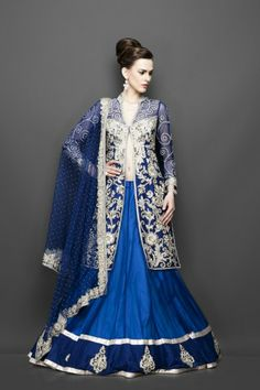 Featuring this beautiful Blue Jacket Lehenga  in our wide range of Lehengas. Grab yourself one. Now!