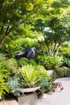 Take a tour through a Melbourne garden that was given a Sydney makeover by a renowned landscape designer.