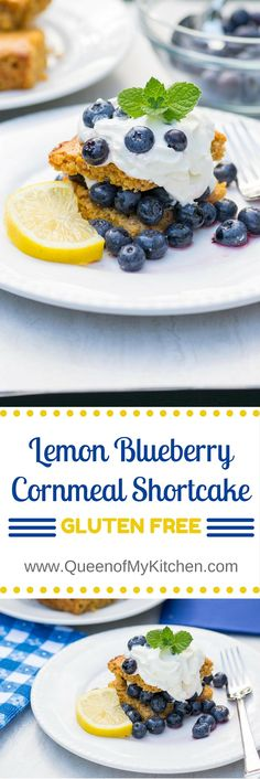 Lemon Blueberry Corn