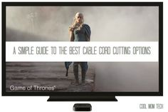 A simple guide to cutting the cord: 4 of the best entertainment options | Cool Mom Tech