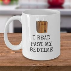 Book lovers coffee tea mug - There is no such thing as too many books - bibliophile library literature cozy gift cup Gun Lover Gifts, Nerd Gifts, Book Lovers Gifts, Book Gifts, Tea Mugs, Coffee Mugs, Past My Bedtime, Funny Cups, Gifts For Librarians