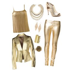 Chic Star Wars C3PO cosplay costume for Halloween
