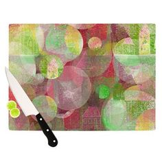 "KESS InHouse Dream Place Cutting Board Size: 11.5"" H x 15.75"" W"