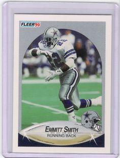 1990 Fleer Update Emmitt Smith RC!