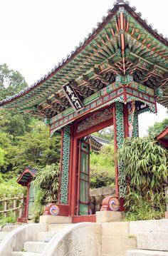 """Secret Garden (Huwon), Seoul, South Korea. """