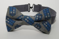 Doctor Who Bow Tie  TARDIS Bow Tie  Doctor by TheDirectorsCabin, $17.00