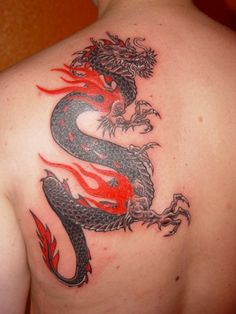 Hot japanese dragon meaning names symbolism pictures difference between chinese and japanese dragon drama Dragon Tattoo Hd, Dragon Tattoo Wallpaper, Asian Dragon Tattoo, Dragon Tattoo Designs, Dragon Meaning, Bild Tattoos, Japanese Dragon, Back Tattoo, Picture Tattoos