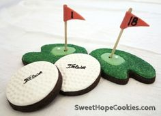 Golf Cookies by Le_Styliste