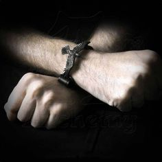 """Bracelet Alchemy Gothic """"Black Consort"""""""