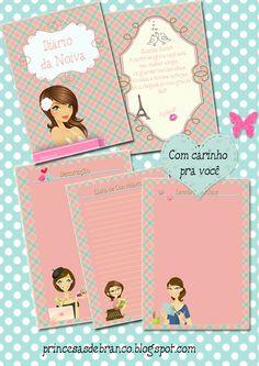 diário da noiva grátis para imprimir faça você mesmo