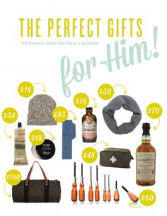 Great Gifts for Him!